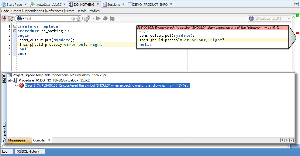 Do You Develop Your Plsql Directly In The Database Thatjeffsmith