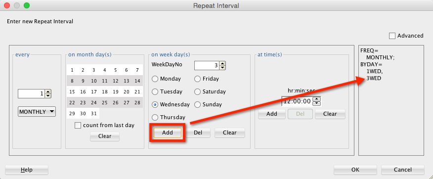 You can add as many days as you want...