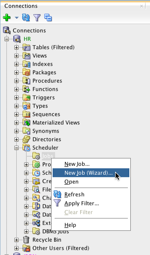 The wizard has a lot more options and widgets...