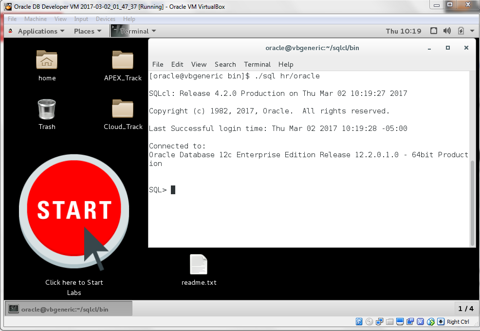 oracle virtualbox image