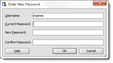 Resetting Your Oracle User Password with SQL Developer