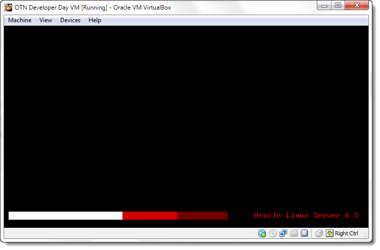 Oracle Enterprise Linux 6 is booting up!