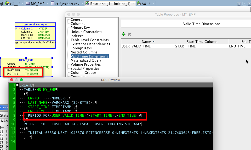 You can find better examples and sample SQL to play with this in the aforementioned DOCS link.