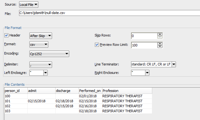 How to Import from Excel to Oracle with SQL Developer