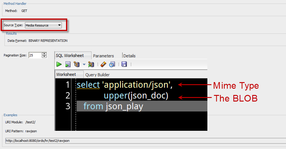 ORDS: Returning Raw {JSON} – ThatJeffSmith